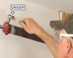 how to adjust garage door springsGarage Door Spring Adjustment